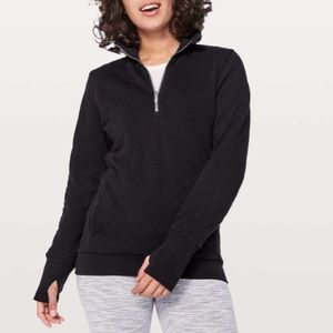 Lululemon Forever Warm Pullover Sz 2 In Black